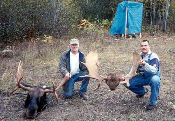Canada Moose Hunts Udells Hunting